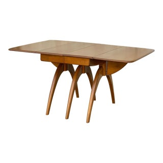 1970s Mid-Century Modern Heywood Wakefield Spider Dining Table For Sale