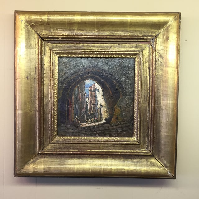 1890 painting by famous artist Addison Millar. The painting in great condition, the frame could be better. Signed upper...