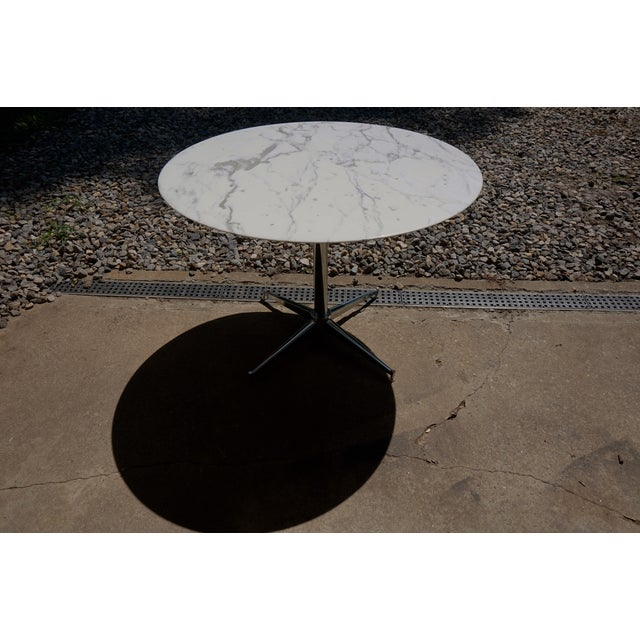 Florence Knoll Marble Table - Image 3 of 8