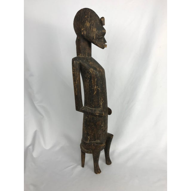20th Century African Senufo or Ivory Coast Fertility Sculpture For Sale - Image 10 of 10