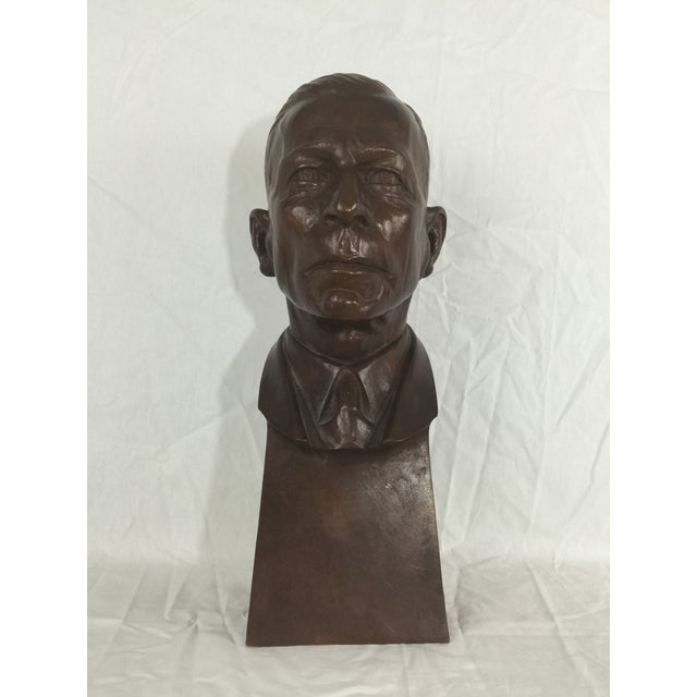 """English Carl Mose Bronze """"Young King Henry"""" Bust For Sale - Image 3 of 11"""