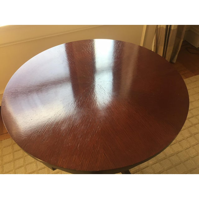 Traditional Nancy Corzine Laughton Walnut Side Table For Sale - Image 3 of 8