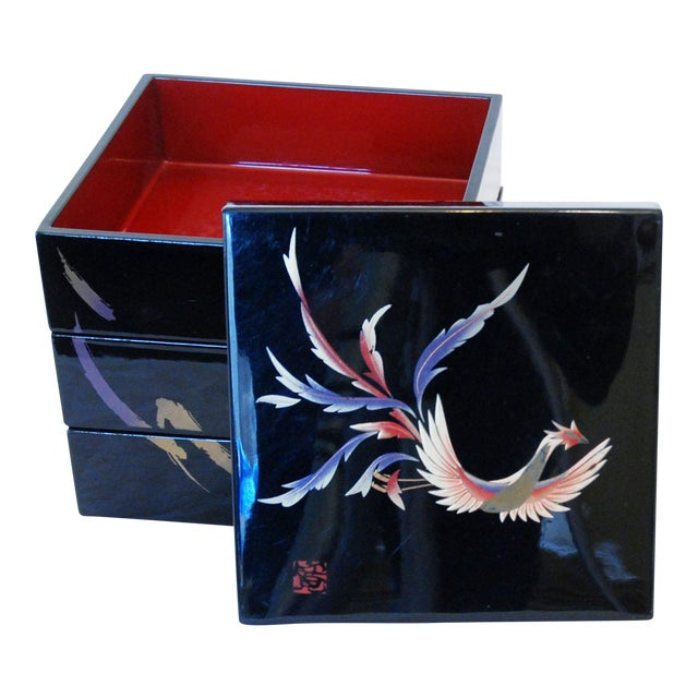 Japanese Yamamoto Kansai Lacquered Box - Image 1 of 5