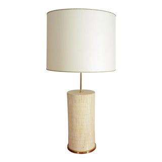 Large Bone Table Lamp For Sale
