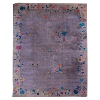 Chinese Art Deco Carpet - 10' x 13'