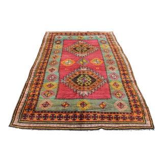 Multi Colour Anatolian Carpet - 9' 6'' x 4' 5''