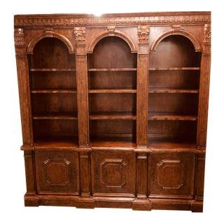 Modern Traditional Brown Bookcase