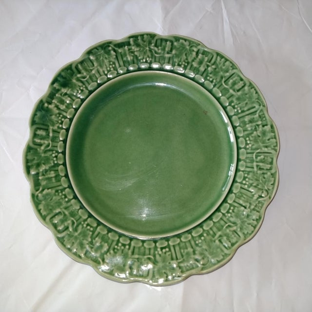 20th Century Cottage Portuguese Ceramic Plate For Sale In Kansas City - Image 6 of 6