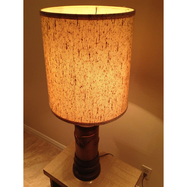 1970s Ceramic Eagle Table Lamp For Sale In Austin - Image 6 of 8