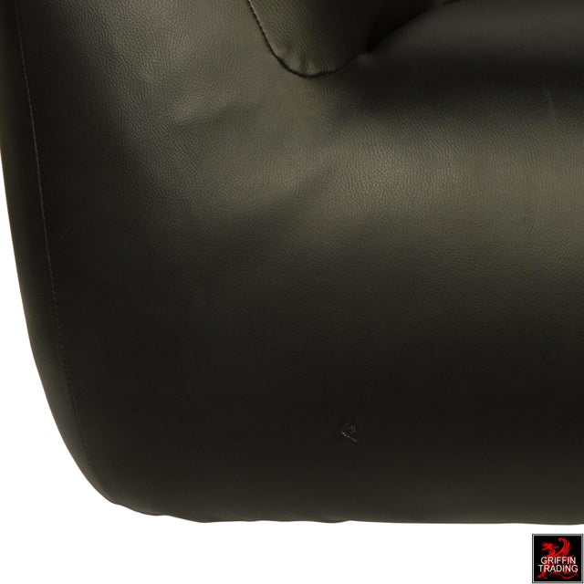 Black Mario Bellini Le Bambole Lounge Chair For Sale - Image 8 of 12