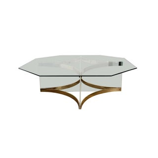 1970's Vintage Alessandro Albrizzi Coffee Table For Sale