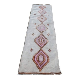 First Half 20 Cty Moroccan Turkish Berber Style Organic Rug For Sale