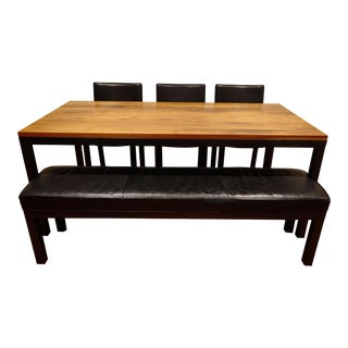 Portica Dining Table & Chairs Set - Set of 5