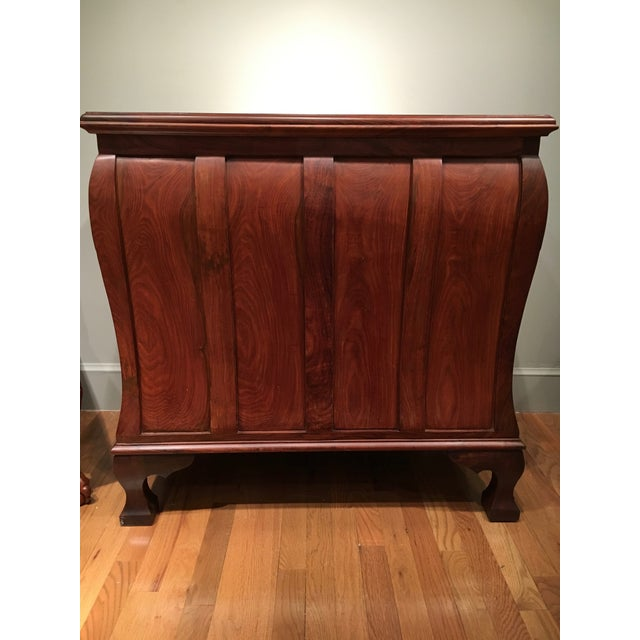 Aurora Solid Rosewood Commode - Image 4 of 8
