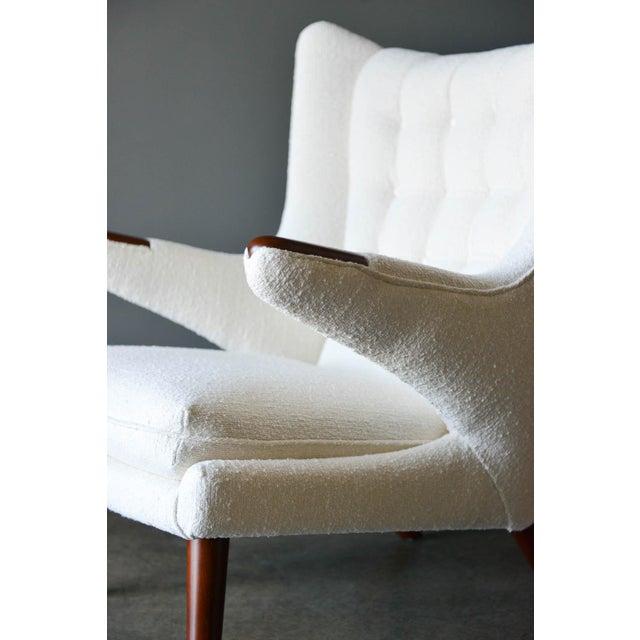 "1950s Hans Wegner Model Ap19 ""Papa Bear"" Chair For Sale In Los Angeles - Image 6 of 13"