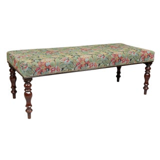 Regency Style Mahogany Bench For Sale