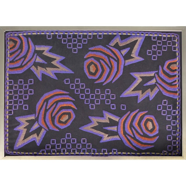 1930s Vintage Framed American Art Deco Tapestry - Image 1 of 7