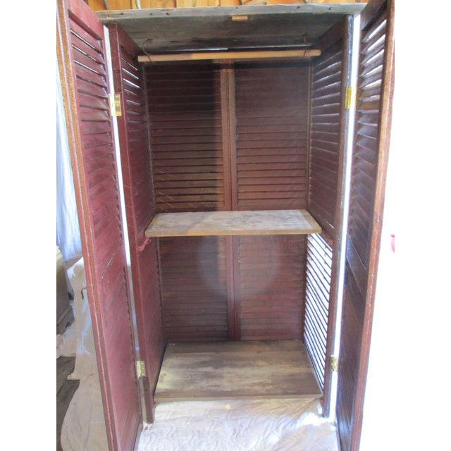 Upcycled Shutter Armoire - Image 6 of 7