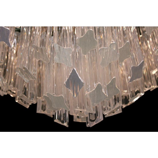 Exceptional camer pyramid shaped glass rod chandelier decaso camer pyramid shaped glass rod chandelier image 4 of 5 audiocablefo