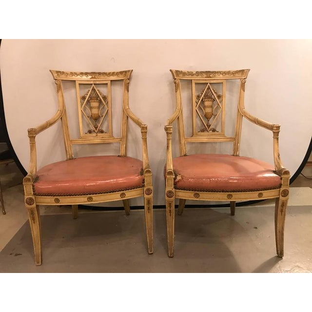 Maison Jansen Arm Chairs - a Pair - Image 2 of 11