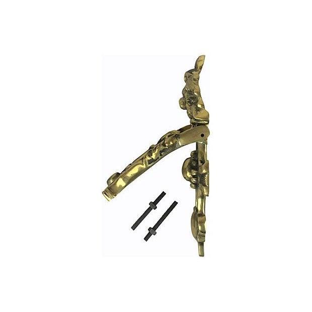 English Brass Door Knocker - Image 2 of 2