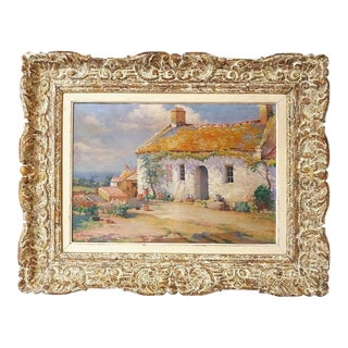Charles Perron, l'Ile d'Yeu France by Charles Perron, Painting, Original Framed For Sale