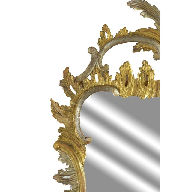 Carved Rococo Vintage Mirror - Gold & Silver Gilt - Image 3 of 7