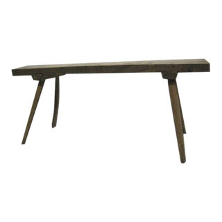 French 1930 Modern Craftsman Writing Table / Console