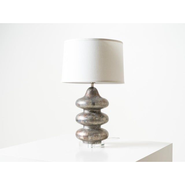 2010s Pagoda Table Lamp For Sale - Image 5 of 5