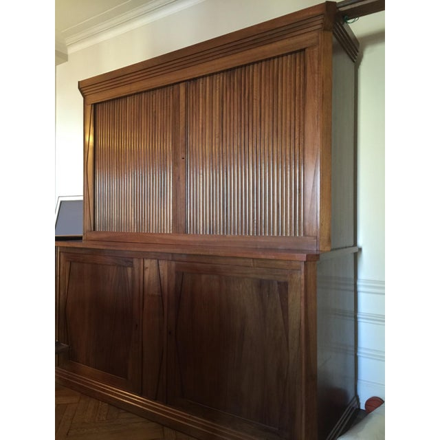 French Cabinet with Accordion Doors - Image 7 of 7