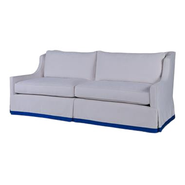 Century Furniture Sienna Skirted Sofa For Sale