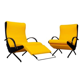 Pair of MidCentury Italian P40 Osvaldo Borsani for Tecno First Edition, 1950 For Sale
