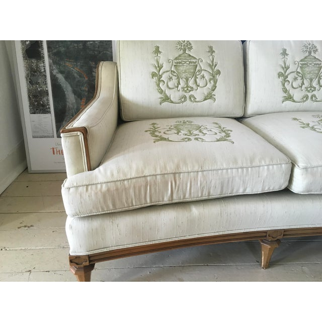 Mid-Century Modern Thomasville Mid-Century Modern Curved Sofa For Sale - Image 3 of 9