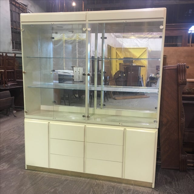 Large Vintage Wall Display Unit Milano by Stanley - Image 2 of 11