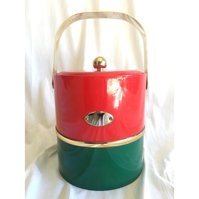 Georges Briard Holiday Ice Bucket For Sale - Image 9 of 9