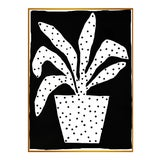 "Image of XL ""Polkadot Plant"" Print by Kate Roebuck, 45"" X 61"" For Sale"