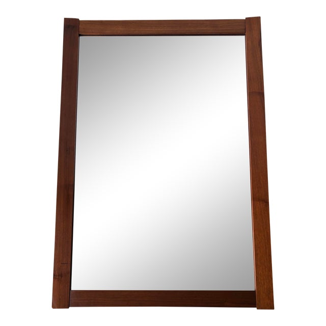 Vintage Mid Century Modern Wall Mirror. For Sale