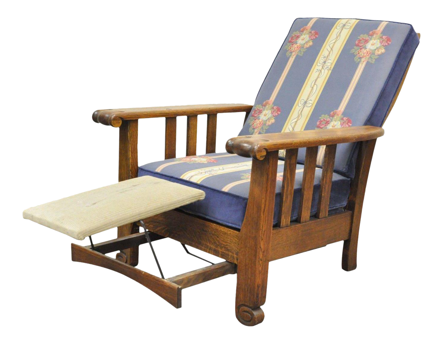 Antique Royal Easy Mission Arts u0026 Crafts Reclining Lounge Morris Chair Recliner  sc 1 st  Chairish & Antique Royal Easy Mission Arts u0026 Crafts Reclining Lounge Morris ...