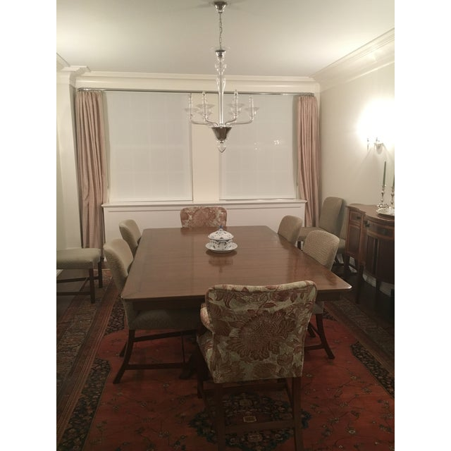 Rose Tarlow Custom Pickwick Dining Table For Sale - Image 5 of 9