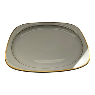 Vintage Rosenthal Suomi Banquet Gold Oval Serving Platter For Sale