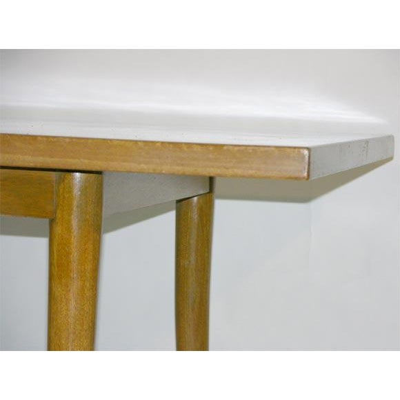Mid-Century Modern Harvey Probber Sabre Leg Dining Table For Sale - Image 3 of 7