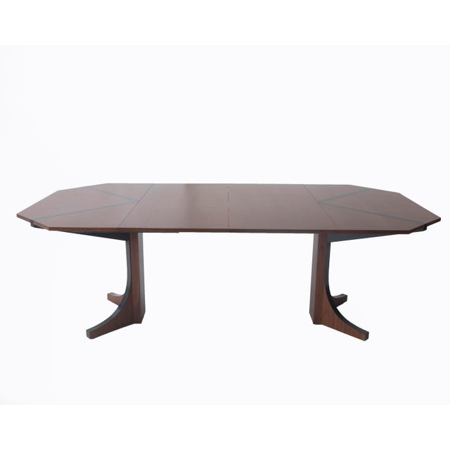 Glenn of California Walnut Dining Table by John Kapel For Sale In Los Angeles - Image 6 of 10