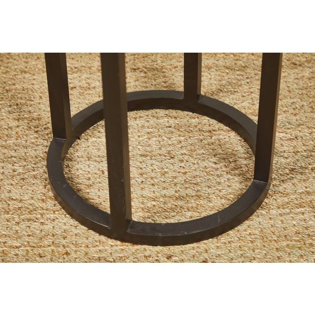 Brutalist Primitive Iron Side Tables For Sale - Image 3 of 9