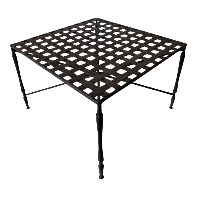 Mid-Century Modern Garden Coffee Table - Image 1 of 10