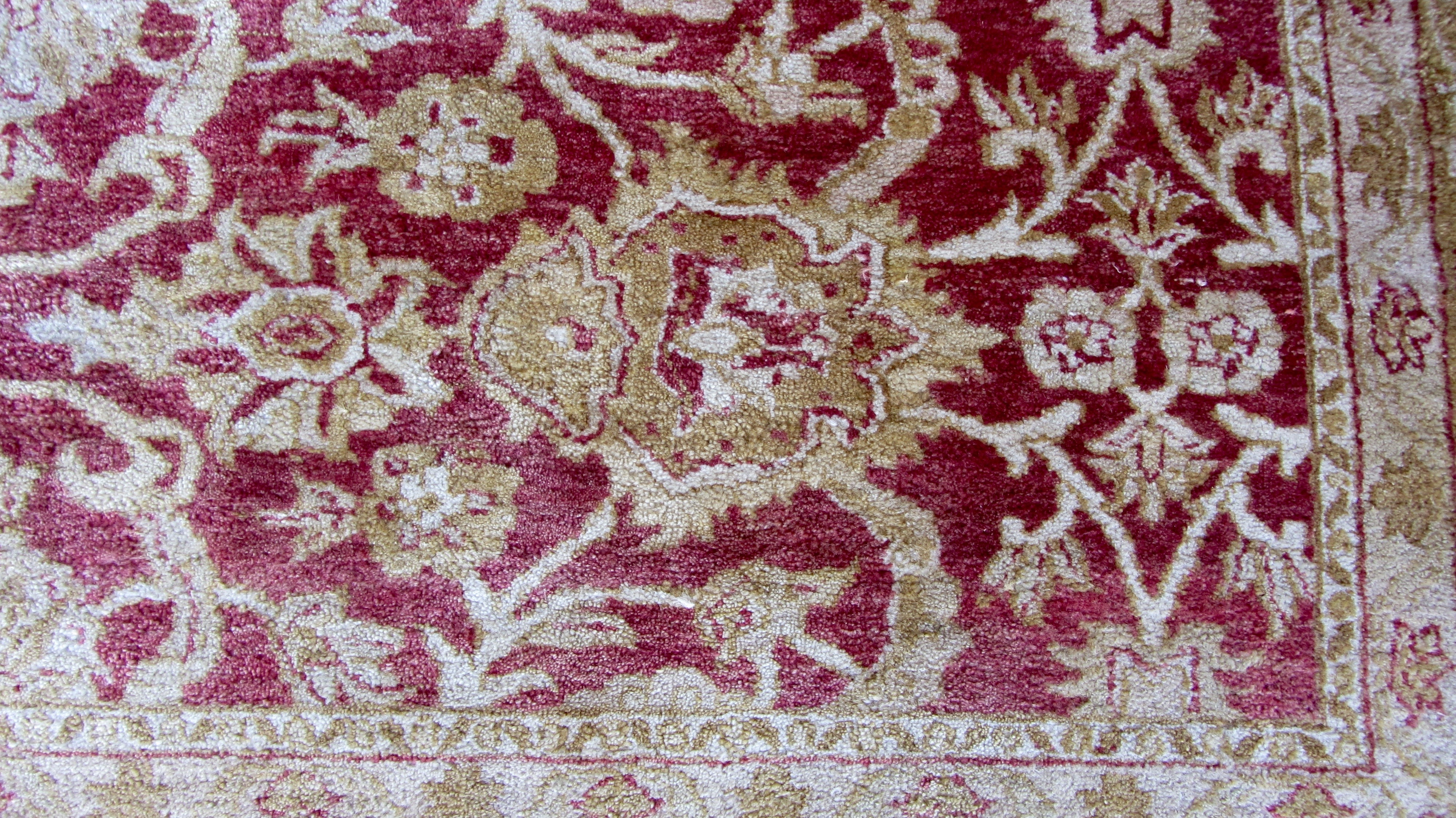 Red And Gold Chobi Area Rug 12 1 Quot X 8 9 Quot Chairish