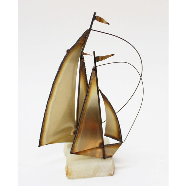 John Perry Brass Boats - Set of 3 For Sale - Image 7 of 9