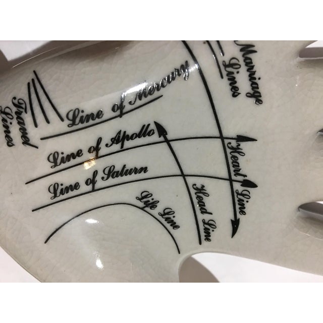 English Palmistry Ceramic Hand - Image 8 of 9