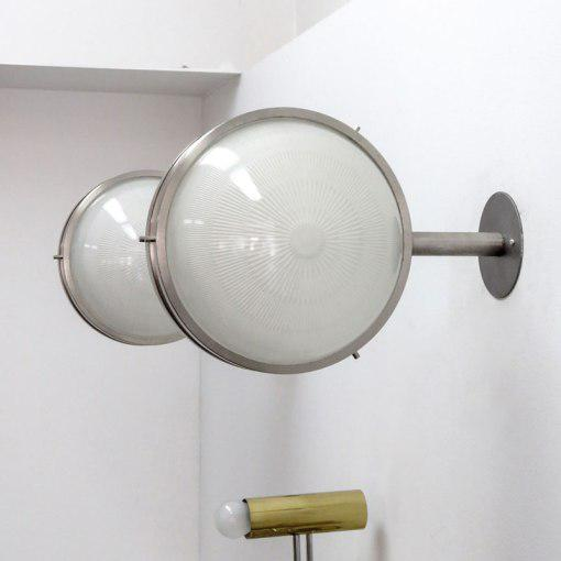 "1960s Sergio Mazza ""Gamma"" Wall Light For Sale In Los Angeles - Image 6 of 10"