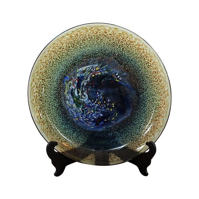 Bertil Vallien Kosta Boda Meteor Bowl - Image 1 of 7