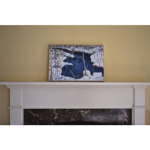 "Stephen Remick ""Destruction Brook at Ella's Bridge""Contemporary Painting For Sale - Image 9 of 9"